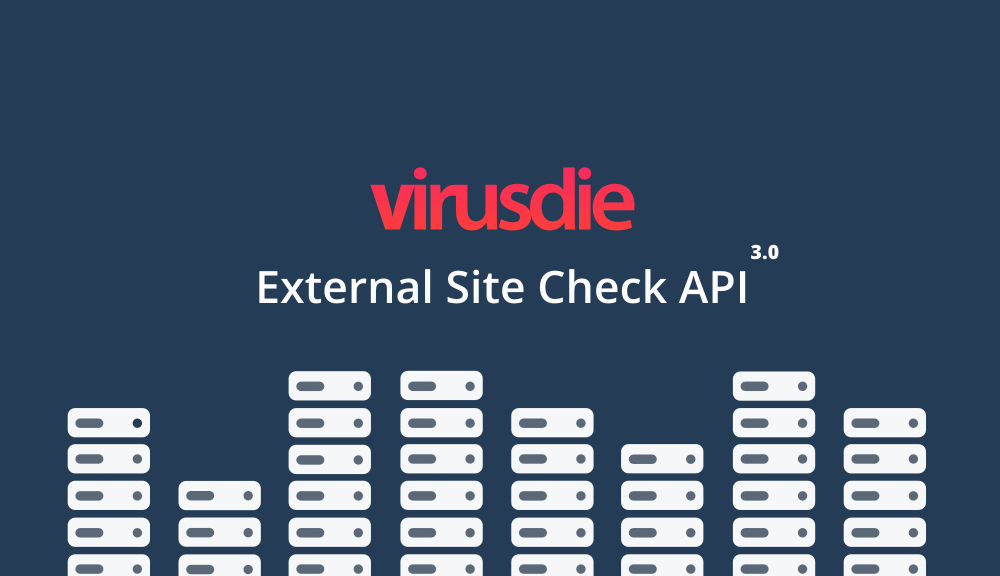 External Site Check API - External Website Malware and Security Scanner