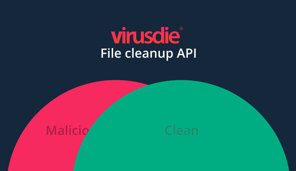 Virusdie File cleanup API for CMS and components developers and security web-projects.