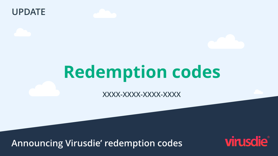 Virusdie redemption codes