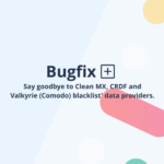 A bugfix pack for Virusdie blacklist monitoring