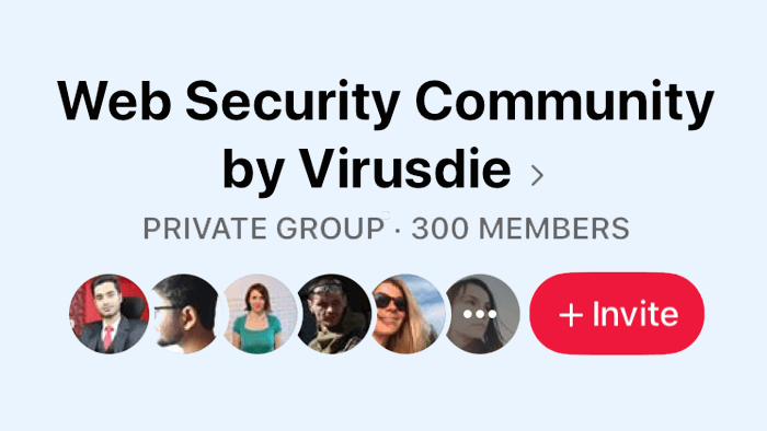 Virusdie Facebook community hits 300 members in 10 days from the scratch!