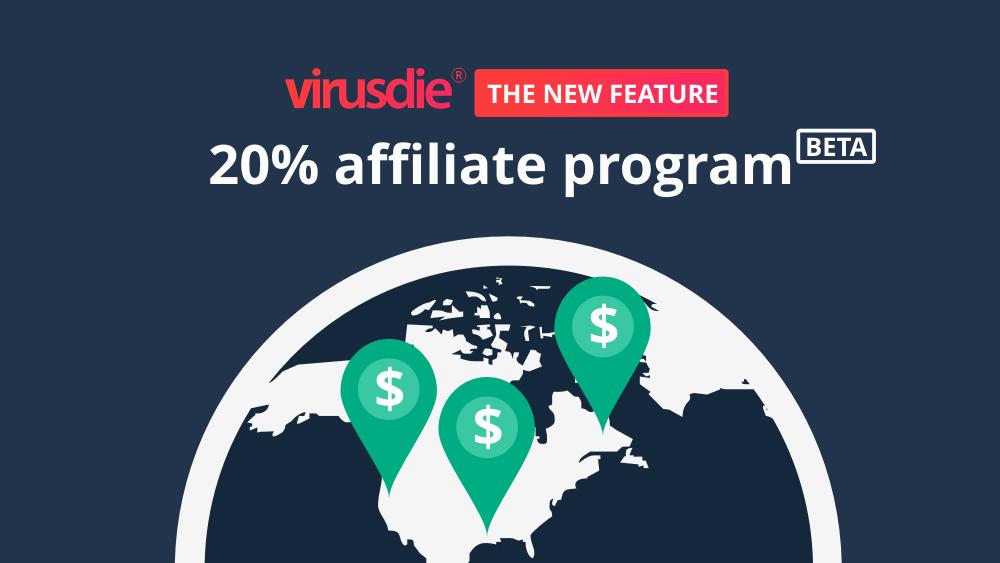 Virusdie affiliate program