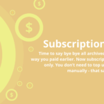 Virusdie subscription