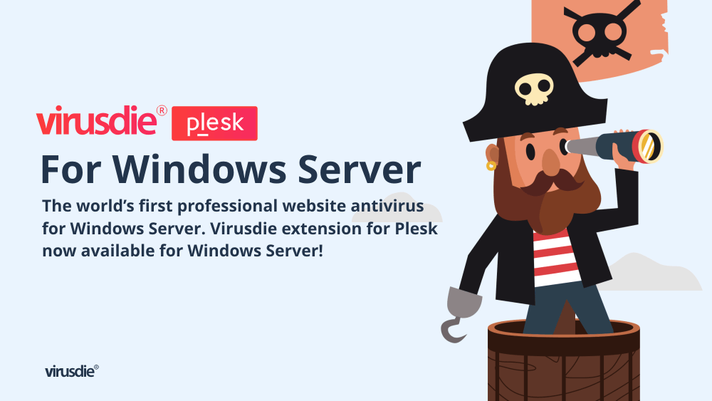 Virusdie Windows Server Plesk