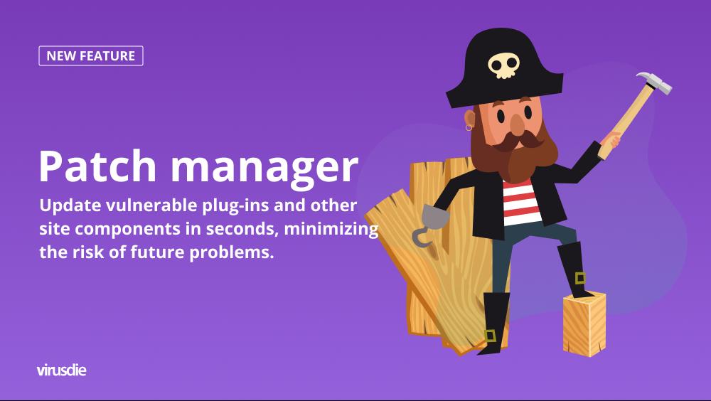 Virusdie website vulnerability panager