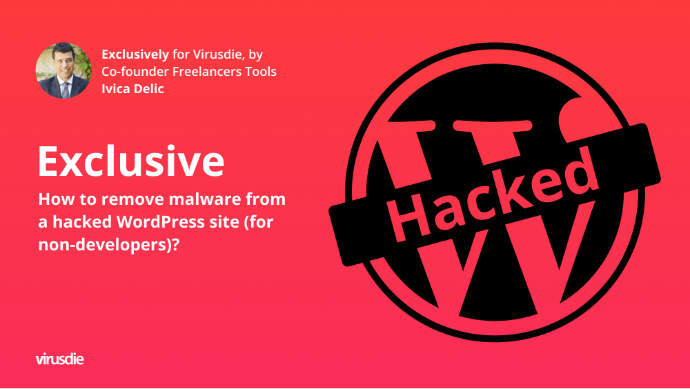 Remove malware from a hacked wordpress website