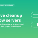 Malware cleanup for slow servers
