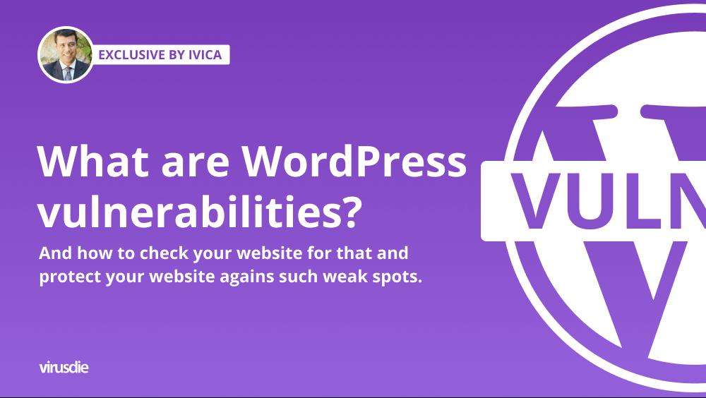 what are wordpress vulnerabilities