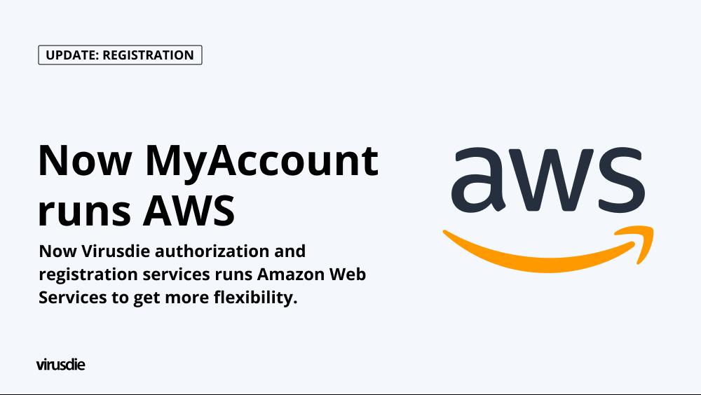 Amazon web services for myaccount