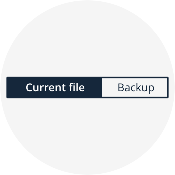 Restore files from repository