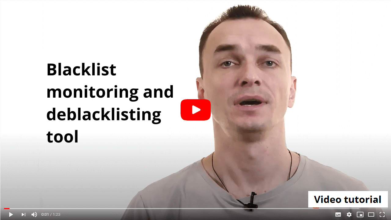 Virusdie blacklist monitoring explainer video